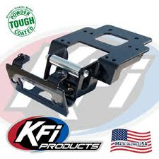 kfi polaris ranger rzr 900 xp winch mount 100765 ebay