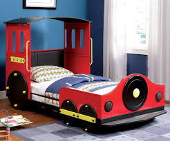 Rc Willey Bunk Beds by Red Train Bed Cm7106 Furniture Of America Kids Bedroom Furniture