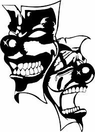 100 Batman Truck Accessories Happy Sad Clown Jester Mask Funny Joker Harlequin Laugh Etsy