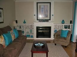 shining chocolate brown and green living room kleer flo