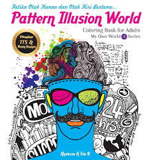 Pattern Illusion World Coloring Book For Adults My Own 4