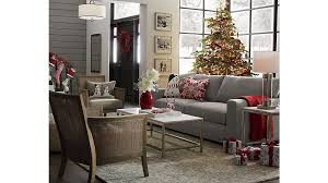 Crate And Barrel Willow Sofa by Axis Ii Grey 2 Seat Couch Crate And Barrel