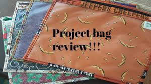 Frosted Pumpkin Stitchery Etsy by Flosstube 87 Made By Mama Joan Project Bag Review Youtube