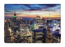 chambre enfant york tapis de sol nouveau york city coucher du soleil vue