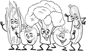 Black And White Ve able Garden Clipart
