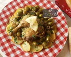 cuisine recette poulet poulet aux olives algerien la cuisine de mes racines