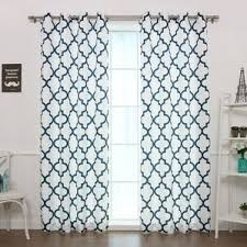 Geometric Pattern Grommet Curtains by Geometric Curtains U0026 Drapes Birch Lane