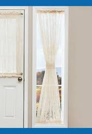 sidelight window curtain rods nucleus home