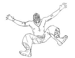 Wwe Coloring Pages Printable 18 Free WWE For Kids