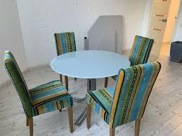 esszimmerstühle und glastisch