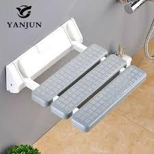 wand montiert dusche sitzbank dusche klapp sitz bad bad hocker kommode wc stühle yj 2030 yanjun