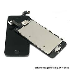 cellphoneage for iPhone 5S Black Full Set with Spare Parts LCD