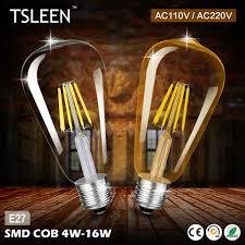 cheap led light bulb st64 golden led l e27 vintage edison