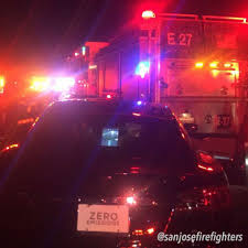 1 Arrested After Tesla Crashes Into San Jose Fire Truck - SFGate Flashing Emergency Lights Of Fire Trucks Illuminate Street West Fire Truck At Night Stock Photo Image Lighting Firetruck 27395908 Ladder Passes Siren Scene See 2nd Aerial No Mess Light Pating Explained Led Lights Canada Night Winter Christmas Light Parade Dtown Hd 045 Fdny Responding 24 On Hotel Little Tikes Truck Bed Wall Stickers Monster Pinterest Beds For For Ambulance And Firetruck Gta5modscom Nursery Decor How To Turn A Into Lamp Acerbic Resonance Art Ideas Explore 16 20 Photos 2 By Fantasystock Deviantart