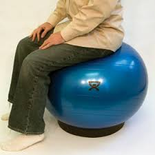Physio Ball Chair Base by Cando Stability Ball And Ball Base Combo To Use For Ball Foot Rest