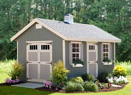 Amish Built Storage Sheds Illinois by Alpine Structures Riverside 10 Ft W X 14 Ft D Wooden Storage