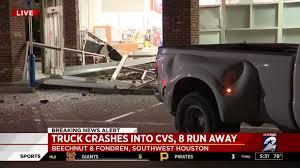 100 Southwest Truck And Trailer Stolen Truck Used In Smashandgrab At Southwest Houston Pharmacy