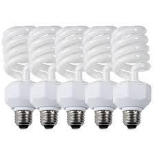 westcott daylight fluorescent bulbs 27 watt 5 pack custom