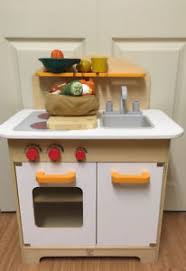 Hape Kitchen Set Canada by Wooden Play Kitchen Kijiji In Ontario Buy Sell U0026 Save With