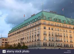 100 Hotel 26 Berlin BERLIN GERMANY AUGUST 2014 Adlon Kempinski In Unter