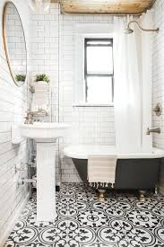 epic black and white bathroom tiles in a small bathroom 11 awesome