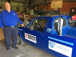 100 Rabbit Truck MTSU Professor Drives CrossCountry On Chicken Fat Fuel If It Doesn