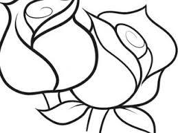 Pretty Coloring Pages Of Tulips Coloringstar