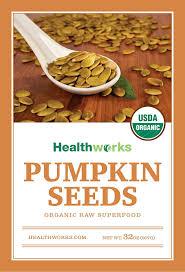 Are Unsalted Pumpkin Seeds Fattening by Amazon Com Healthworks Pumpkin Seeds 2lb Raw Organic Shelled