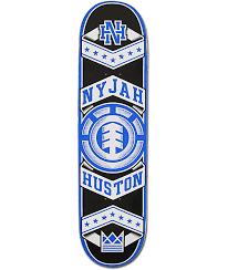 element nyjah huston foremost 8 0 skateboard deck zumiez