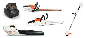 Maintain Your Suburban Homestead With The AK System Including A Hedge Trimmer Blower