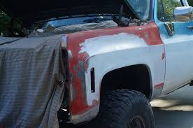 Chevy K10 Truck Restoration Phase 4: Paint Prep And Final Body Work ...