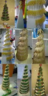 Prelit Christmas Tree That Puts Up Itself by 101 Best Christmas Tree Crafts Images On Pinterest Christmas