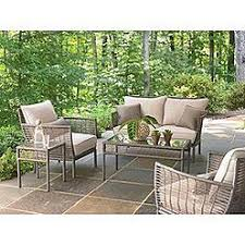 bouchelle 5 piece patio seating set ty pennington outdoor living