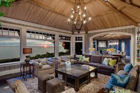 Rustic Living Room The
