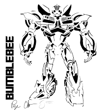 Transformers Bumblebee Coloring Pages Within Transformer Page