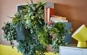 wohnräume mit pflanzen dekorieren ikea deutschland