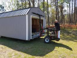 Mule 4 Shed Mover by Sheds Storage Buildings U0026 Carports Near Summerville Columbia