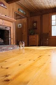 Eastern White Pine Wide Plank Flooring
