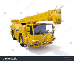 Truck Mounted Crane Stock Illustration 230043622 - Shutterstock