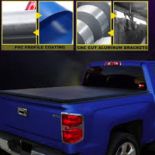 100 Toyota Truck Bed Covers AUSI Tacoma 5 TriFold Cover Heavy Duty Tonneau