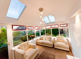 Insulating A Vaulted Ceiling Uk by Insulated Conservatory Roof Process Before And After Bespoke
