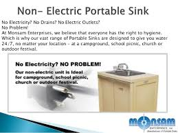 Mobile Self Contained Portable Electric Sink by Modern Kitchen Sinks Rent Portable Sink Mobile Kitchen Medical U2026