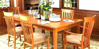 Queen Anne Cherry Dining Table Wood Room Chairs Set