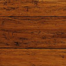 Stranded Bamboo Flooring Hardness by Home Decorators Collection Hand Scraped Strand Woven Dark Mahogany