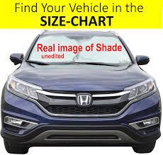 100 Sun Shades For Trucks Amazoncom Windshield Shade ExactFit Size Chart For Cars Suv