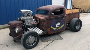 100 Rat Rod Trucks Pictures 1946 Ford Pickup T50 Houston 2015
