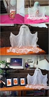Homemade Halloween Decorations Pinterest by Best 25 Halloween Ghosts Ideas On Pinterest Diy Halloween