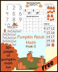 Pumpkin Patch Parable Printable by Free Pumpkin Patch Math Printables Prek 2
