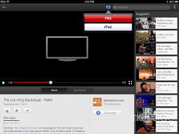 How to stream videos to a TV using an iPhone iPad