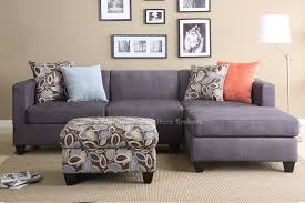 Grey Sectional Living Room Ideas by Charcoal Gray Sectional Sofa Chaise Lounge 5710